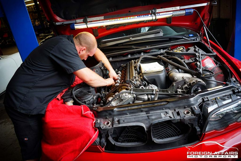 German Car repair shop near