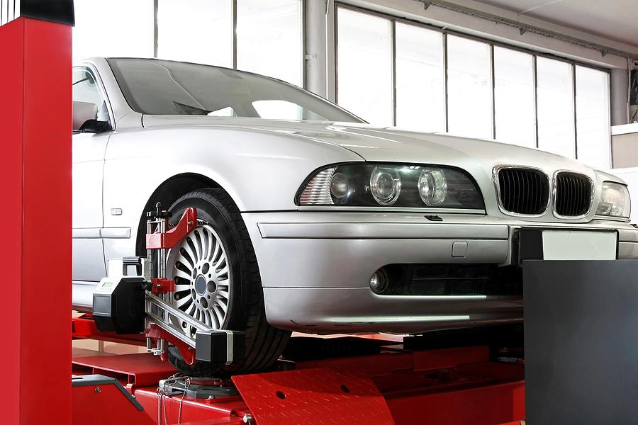 BMW factory scheduled service