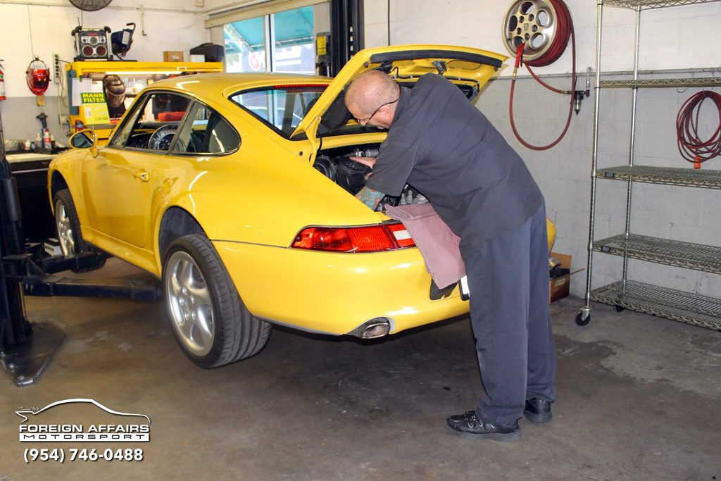 Porsche maintenance