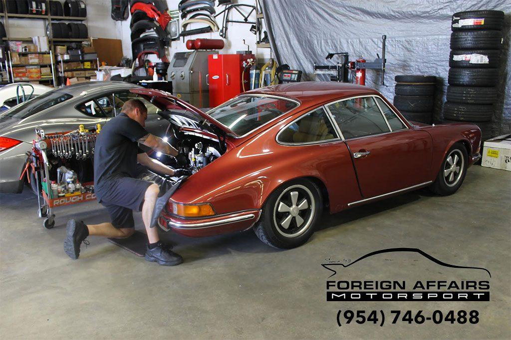 Porsche-maintenance