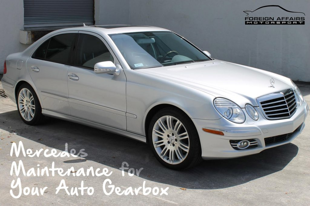 Mercedes Maintenance For Your Auto Gearbox