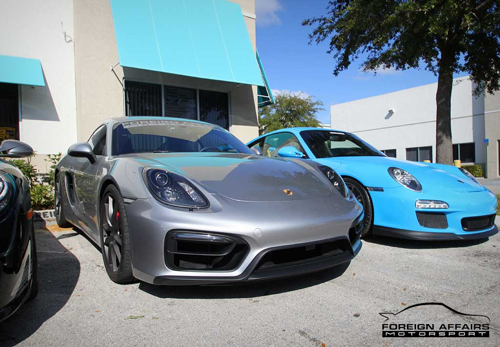 Porsche performance and styling