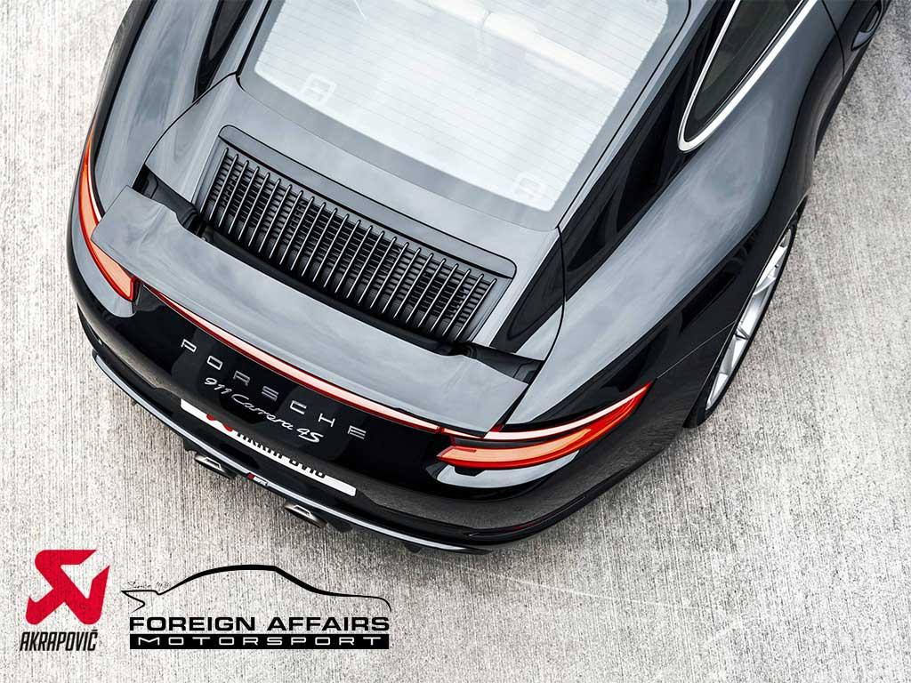 Porsche performance products