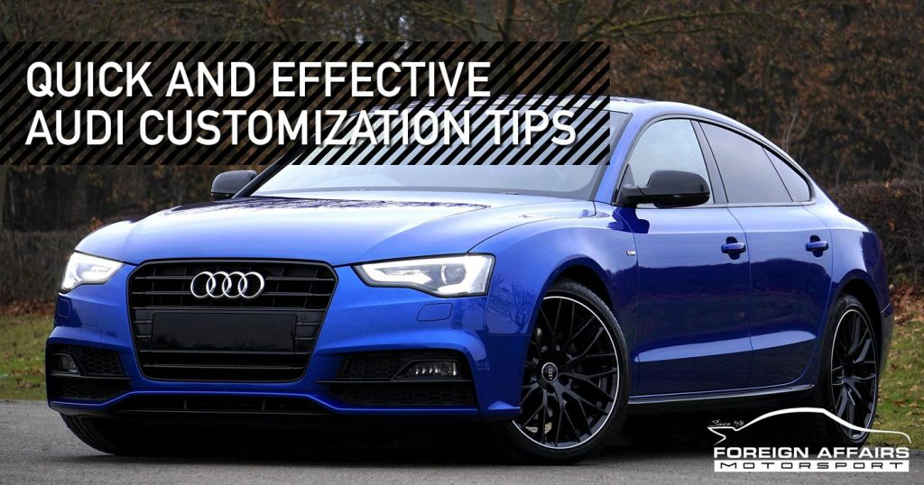Audi customization