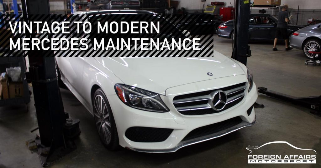 Mercedes Maintenance Tips For Vehicles Of All Ages