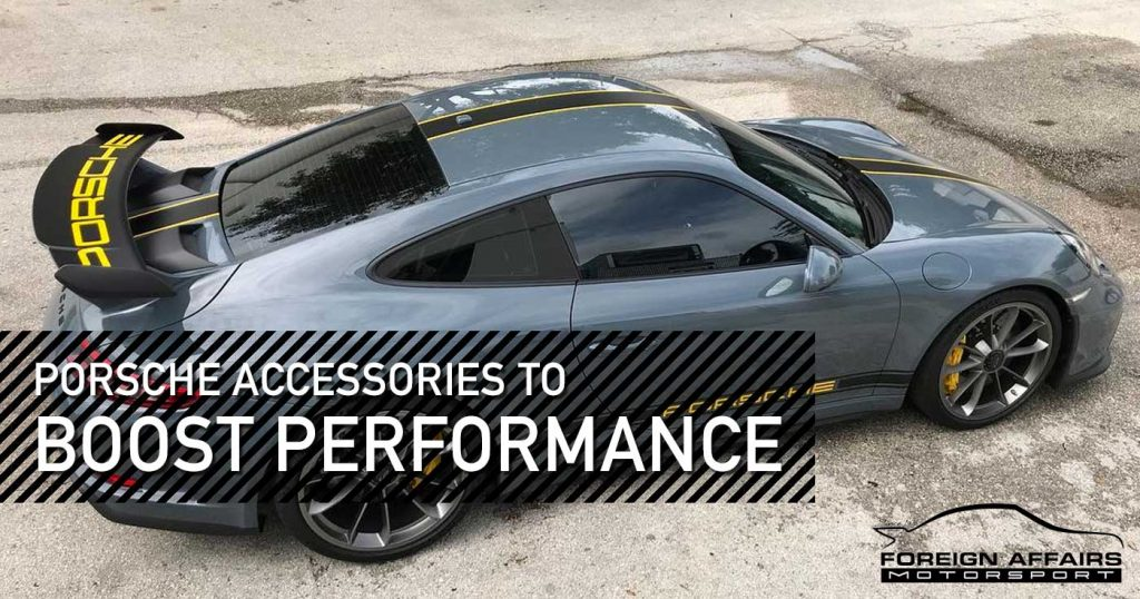 Give Your Ride an Upgrade with the Latest Porsche Accessories