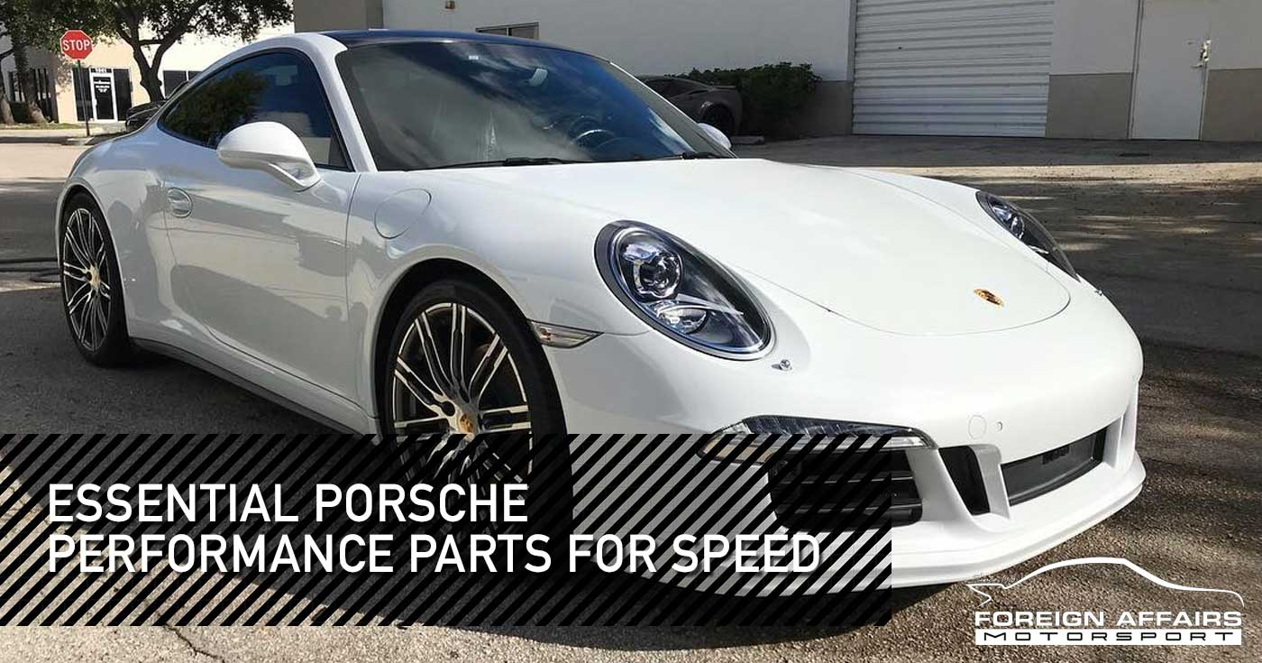Porsche Performance Parts For Speed