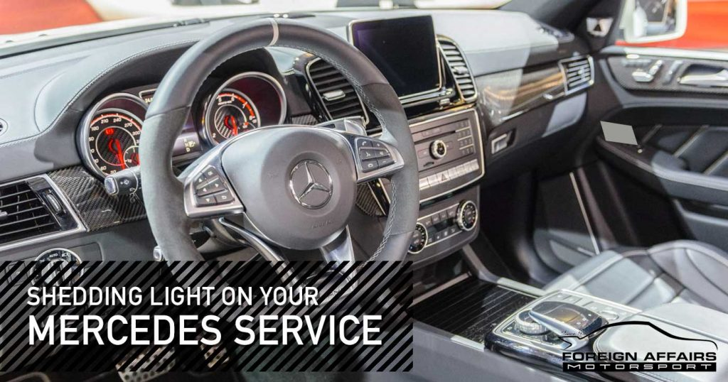 Mercedes Service Tips - Know Your Dashboard Warning Lights