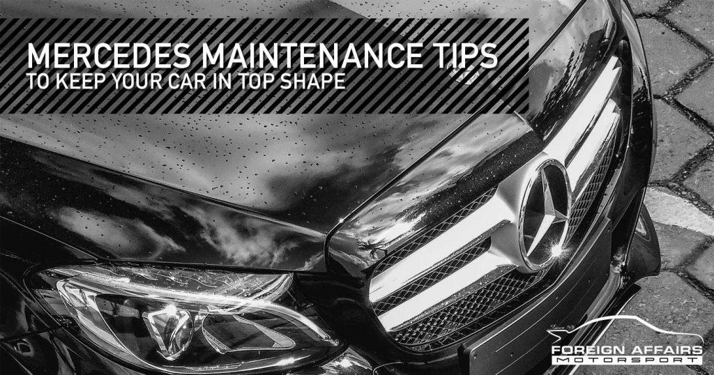 Mercedes Maintenance
