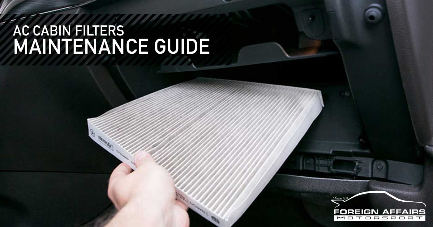 AC Cabin Filters Maintenance