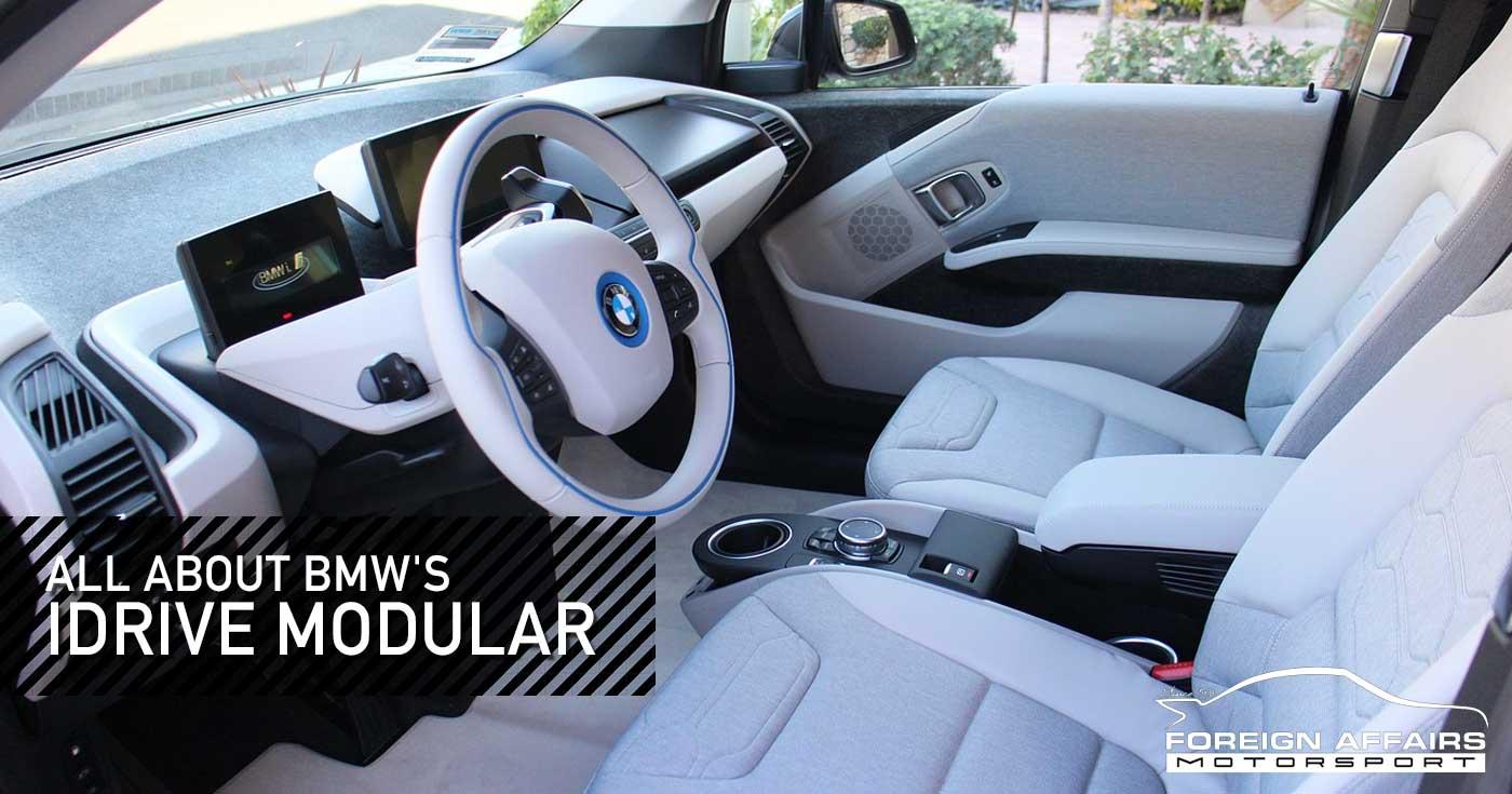 BMW iDrive Modular