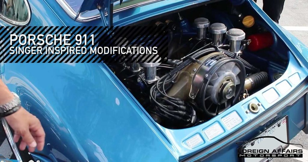 Porsche 911 Modifications