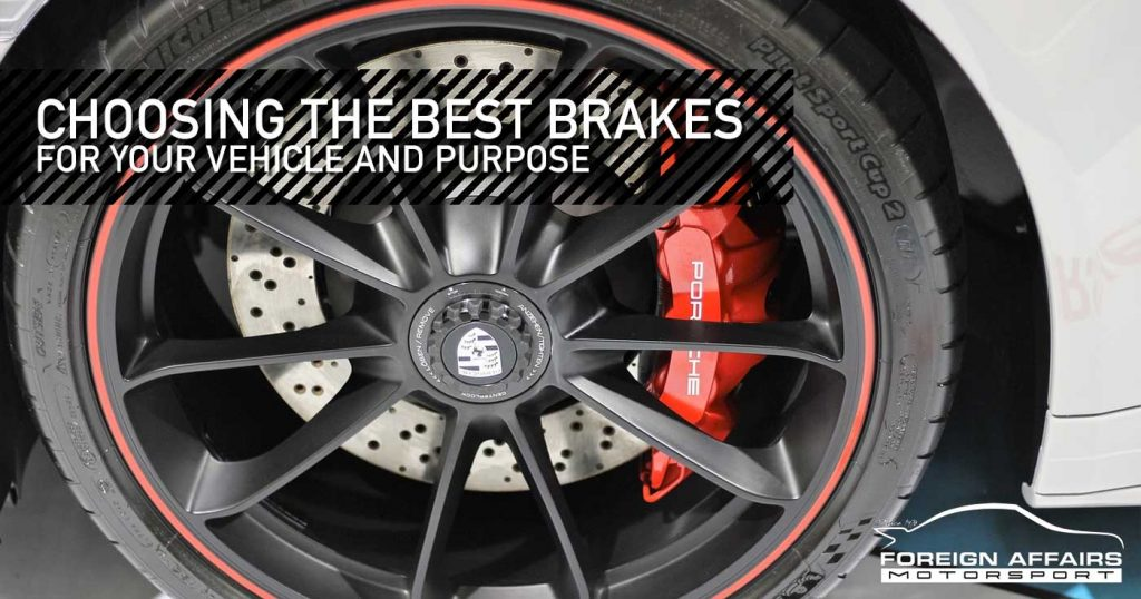 Best Brake Pads >> Which Brakes Are The Best For Your Vehicle And Driving Style