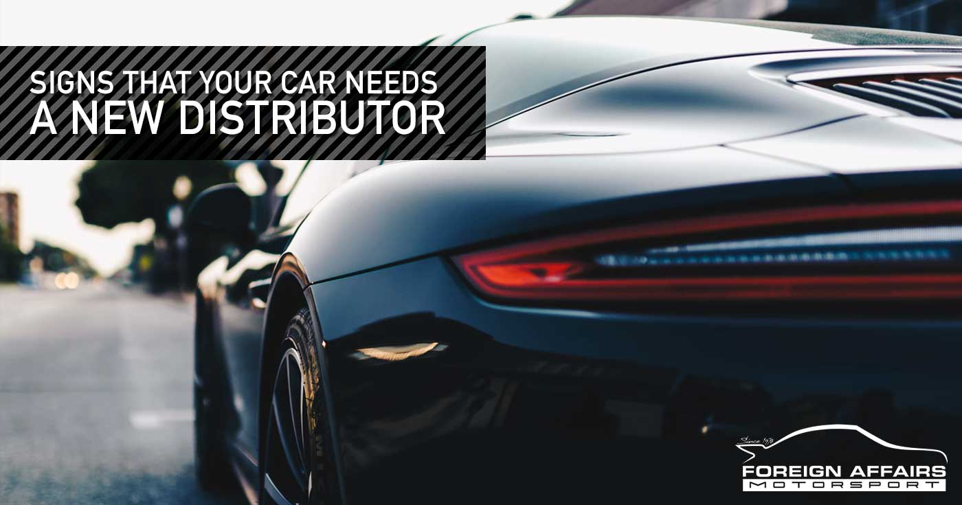 Car Needs A New Distributor