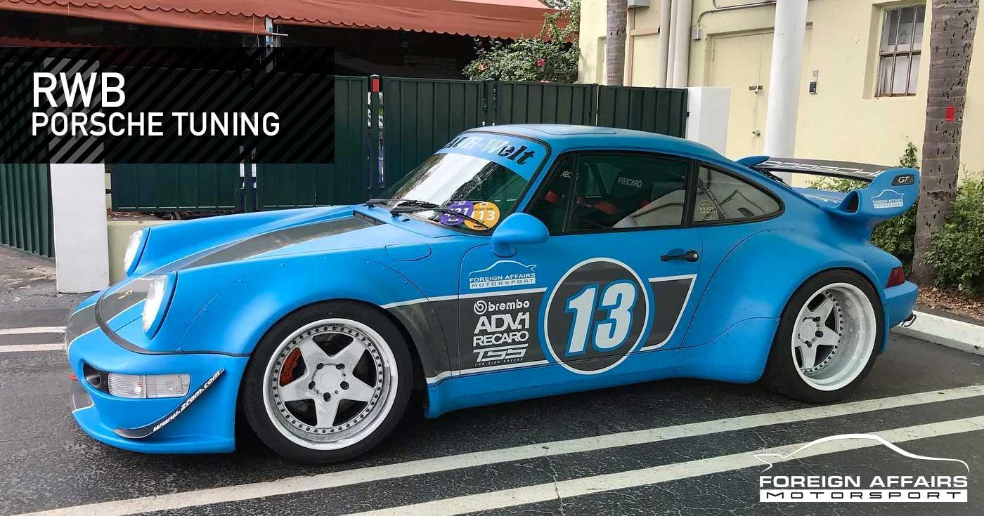 RWB Porsche Tuning