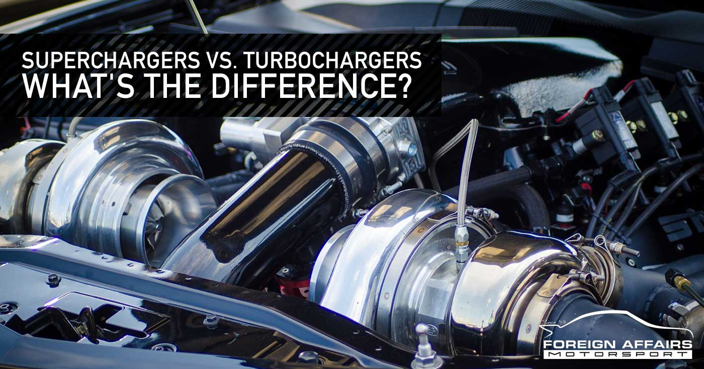 Superchargers vs. Turbochargers