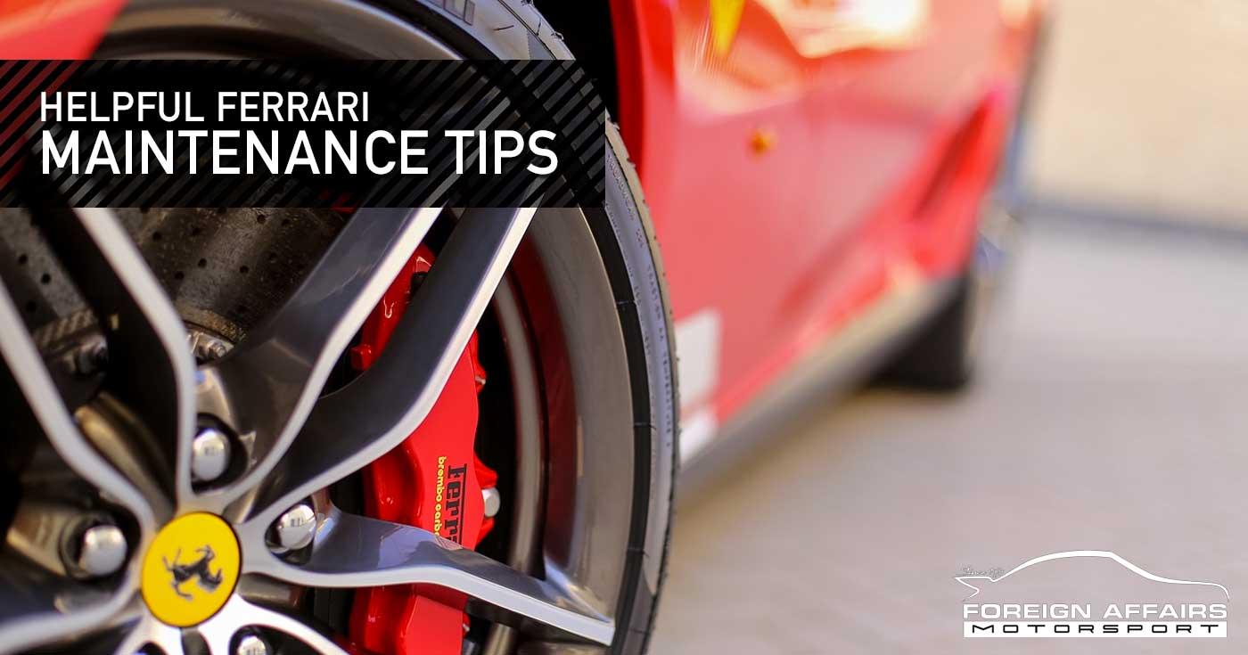 Ferrari Maintenance Don T Let Service Costs Scare You