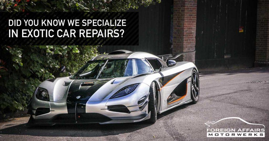 Exotic Car Repairs