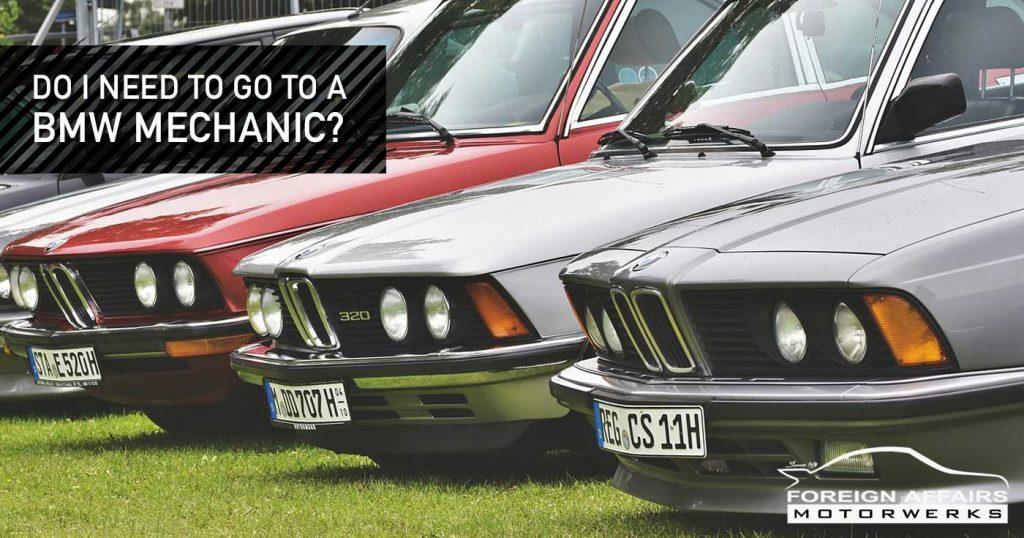 BMW Mechanic