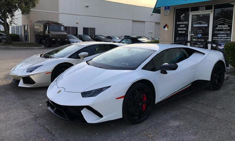 Lamborghini Service