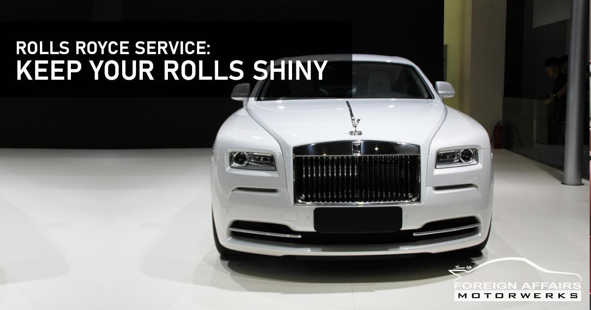 Rolls-Royce Service: