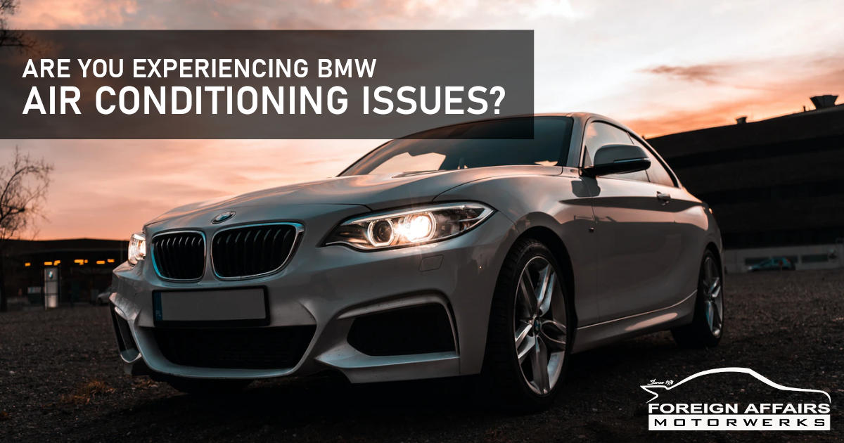 bmw air conditioning issues
