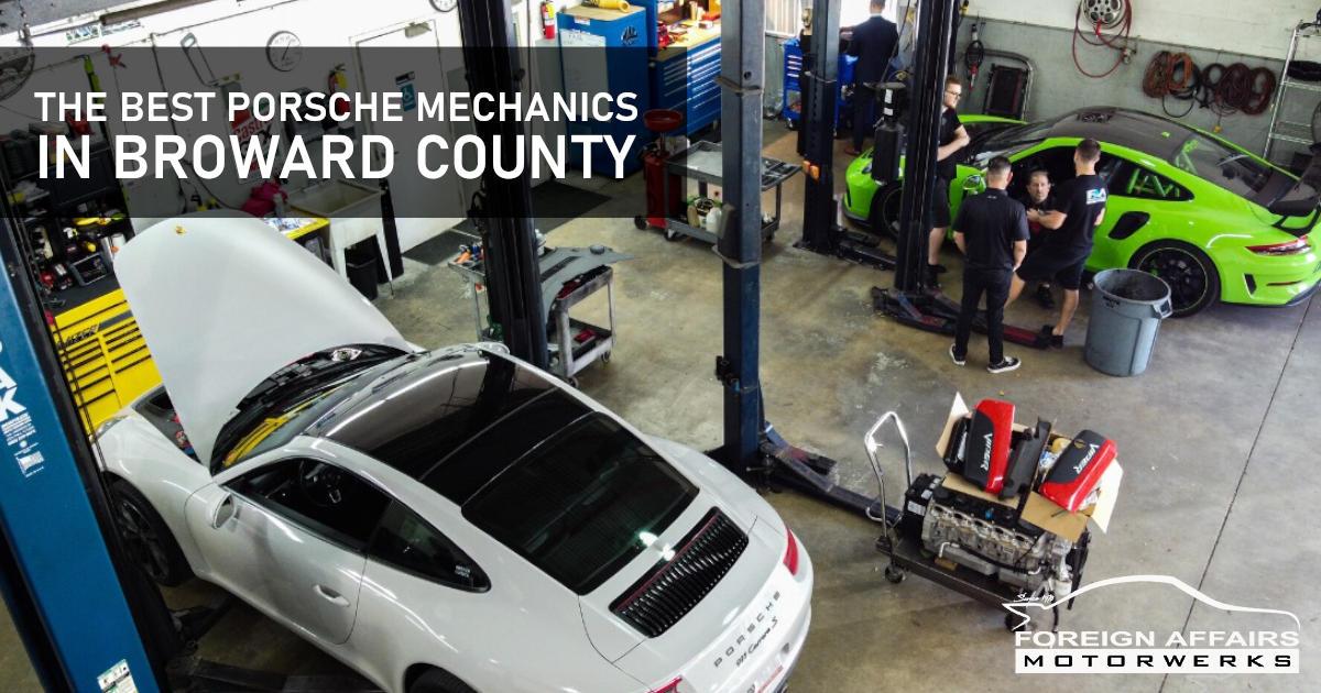 Porsche Mechanics