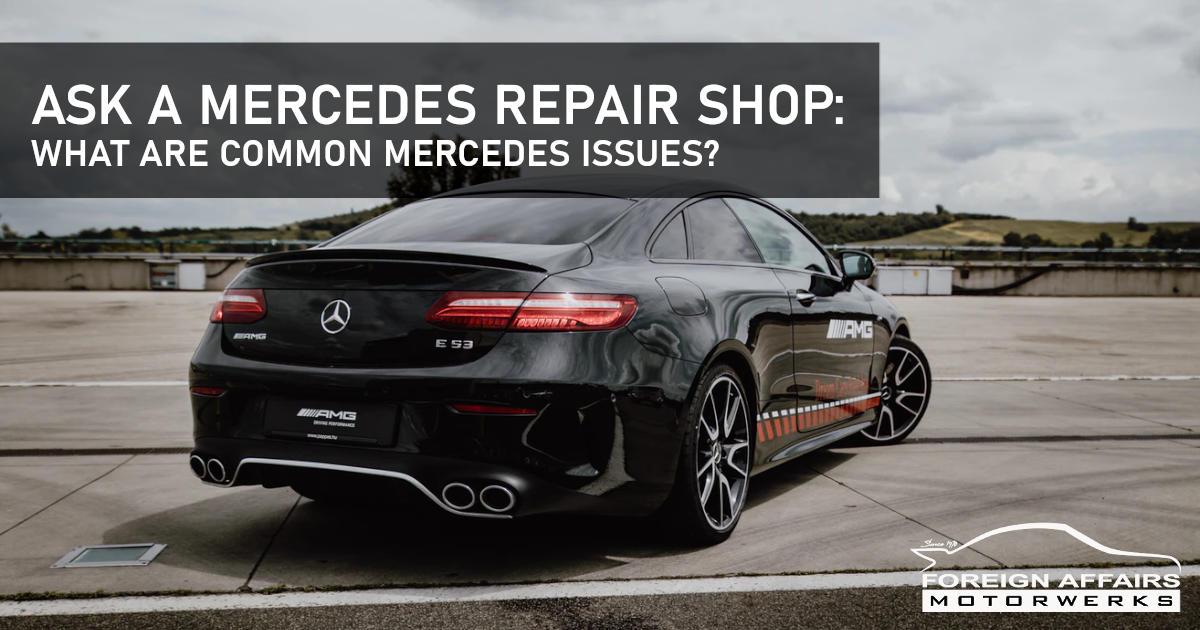 Mercedes Repair Shop
