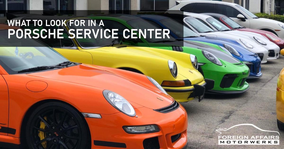 Porsche Service Center