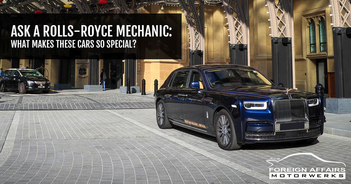Rolls-Royce mechanic