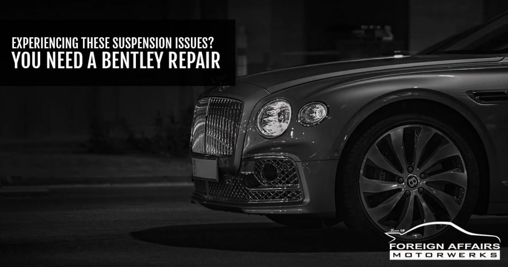 bentley repair