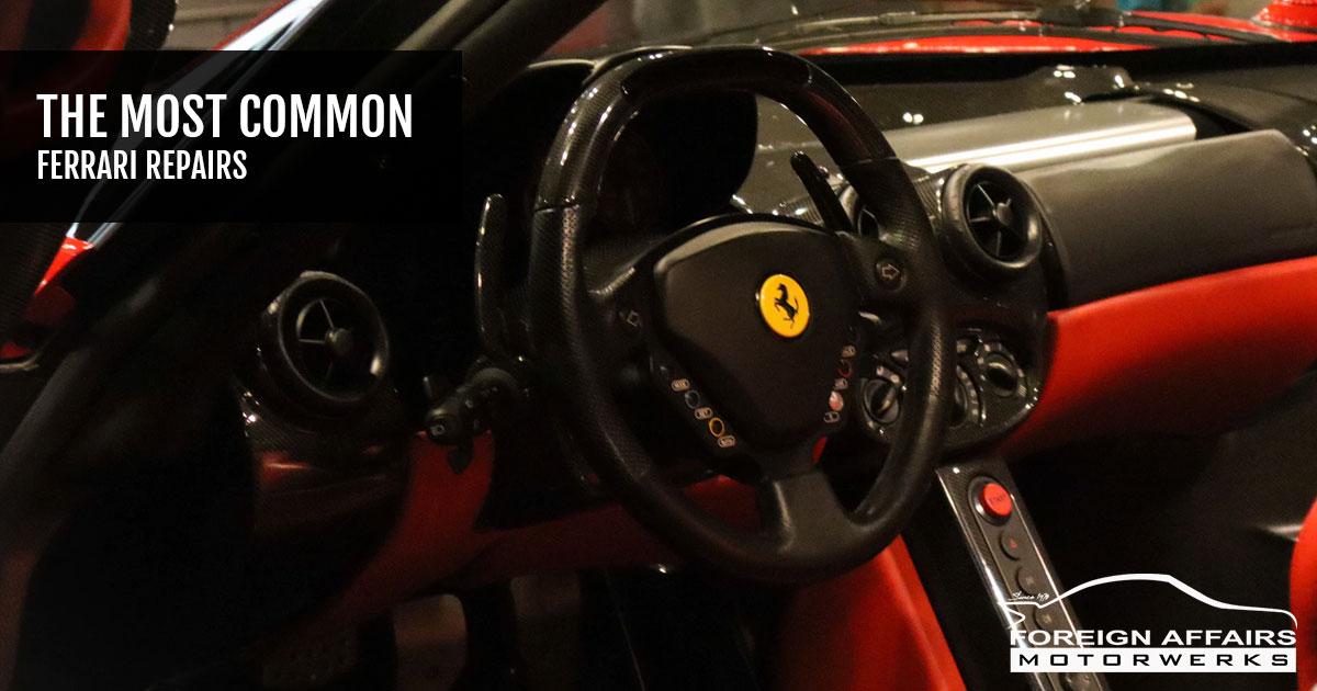 Ferrari Repairs