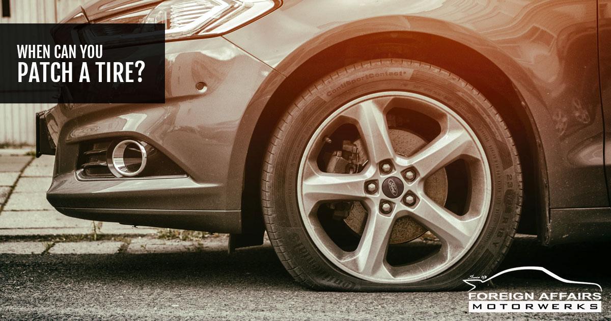 patch a tire