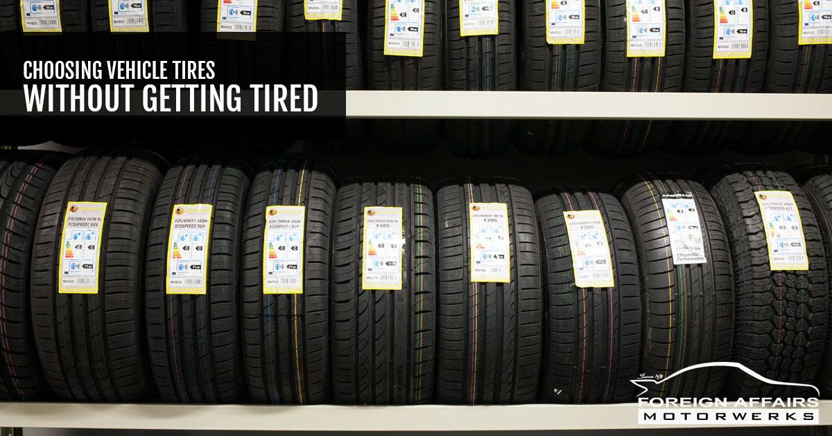 tires for your vehicle